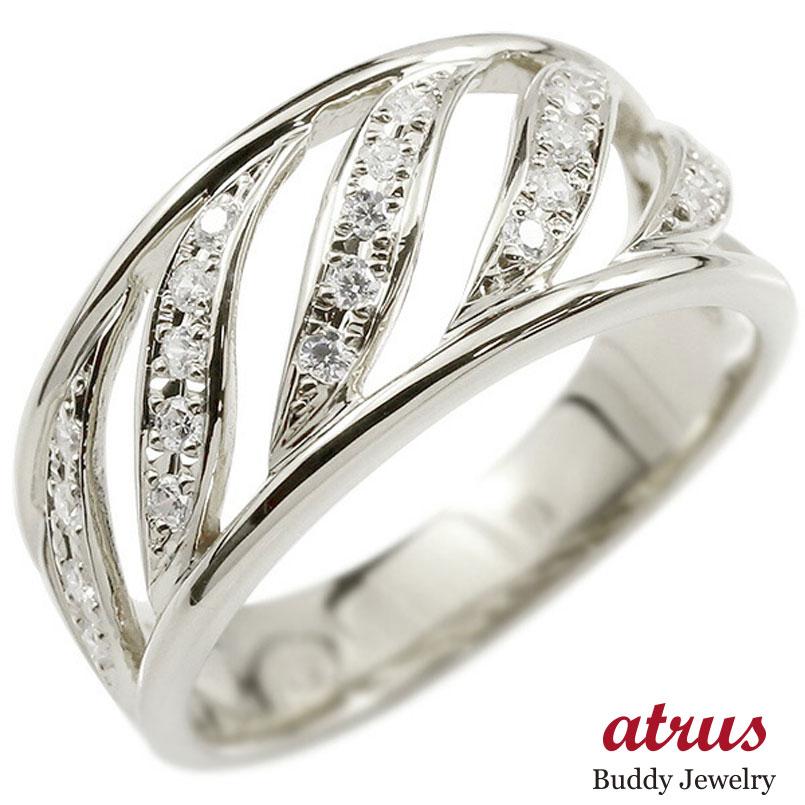メンズ プラチナリング ダイヤモンド 幅広 指輪 リング ダイヤ pt900 ピンキーリング 男性用
