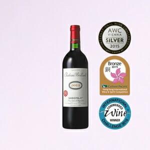 サドヤ シャトーブリヤン2012 赤 750ml 赤ワイン 日本ワイン 国産 山梨