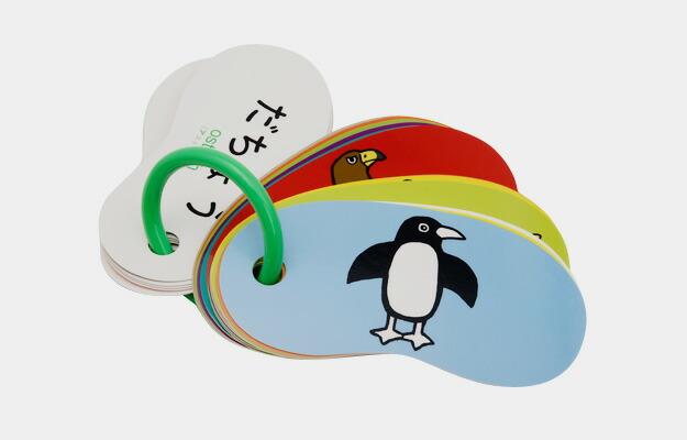RING CARDS(リングカード)どうぶつ(47枚入り) 戸田幸四郎