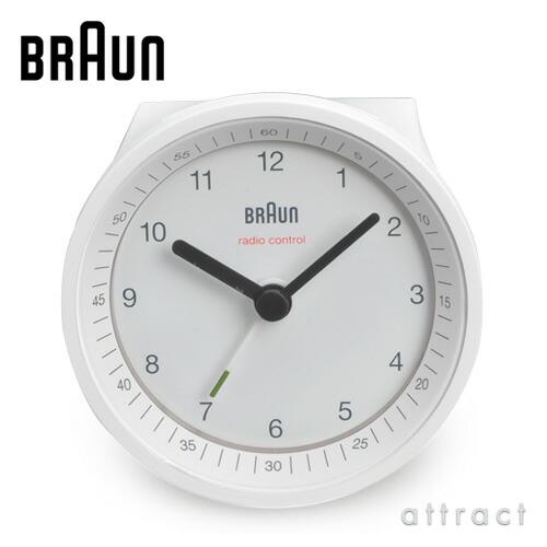 BRAUN ブラウン Radio Controlled Alarm Clock ラジオコントロールク BNC007 アラームクロック 電波時計 カラー:2色 デザイン:デートリッヒ・ルブス