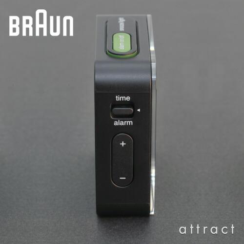 BRAUN ブラウン Digital Alarm Clock デジタルアラームクロック Global radio controlled グローバルラジオコントロール (電波時計) BNC008 カラー:3色