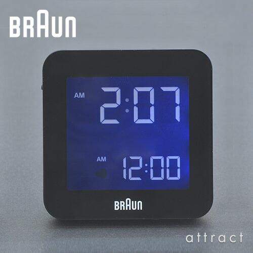 BRAUN ブラウン Digital Alarm Clock デジタルアラームクロック Global radio controlled グローバルラジオコントロール (電波時計) BNC009 カラー:2色