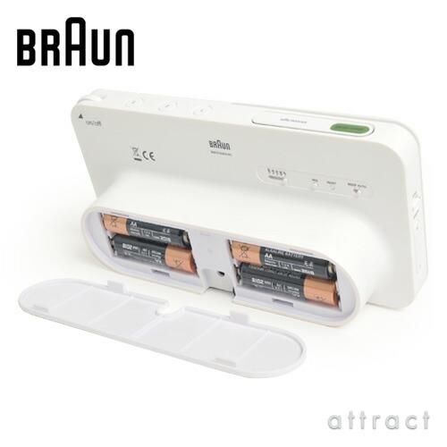 BRAUN ブラウン Radio Clock ラジオクロック BNC010 AM・FMラジオ機能付 Global radio controlled 電波時計 カラー:2色
