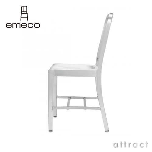 emeco エメコ 1006-30A Navy Barstool with Arms ネイビーチェア アルミニウム バースツール アーム付き 仕上げ:2種類 USA製