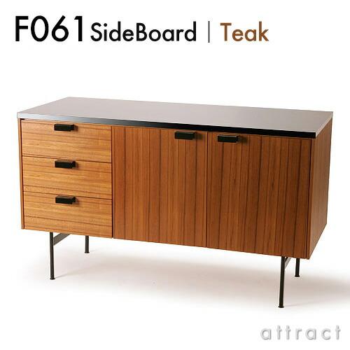 METROCS F031 SideBoard サイドボード (チーク×ブラック)