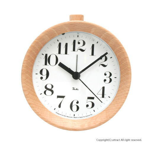 Lemnos レムノス Riki Alarm Clock/リキ アラームクロック