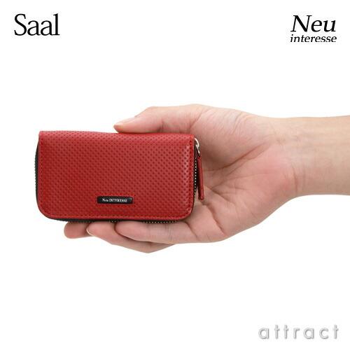 Morpho モルフォ Neu interesse ノイ インテレッセ Saal サール 3945 キーケース (ラウンドファスナー) カラー:2色