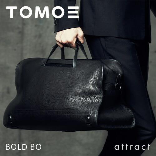 TOMOE(トモエ) BOLD BO ボストンバッグ
