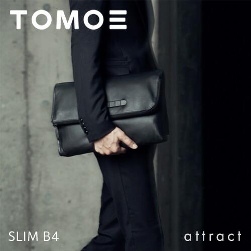 TOMOE(トモエ) SLIM B4 ドキュメントバッグ