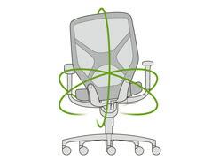 Wilkhahn ウィルクハーン IN. インチェア Swivel Chair スウィーベルチェア オフィスチェア ワーキングチェア wiege ヴィーゲ社 デザイン プロダクト 椅子 いす ドイツ 人間工学 エルゴノミクス デスク 正規品 会議室 会社 バウハウス