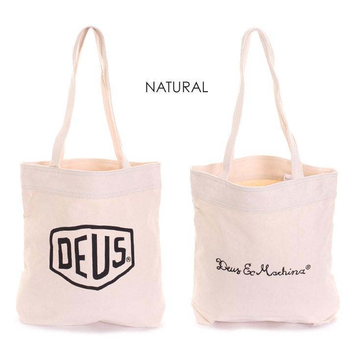 DEUS EX MACHINA デウスエクスマキナ トートバッグ メンズ CLASSIC TOTE  DMP77431 2018秋冬 ブラック/ホワイト/ネイビー/レッド ワンサイズ