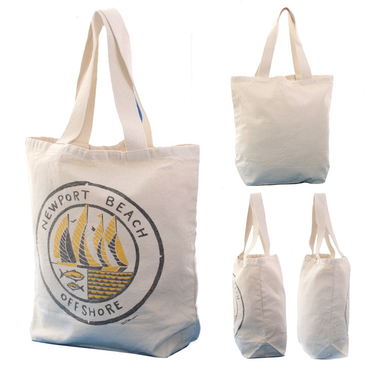 OFFSHORE トートバッグ TOTE BAG NEWPORT BEACH OS18-2AC-S06 2018夏 ナチュラル ワンサイズ