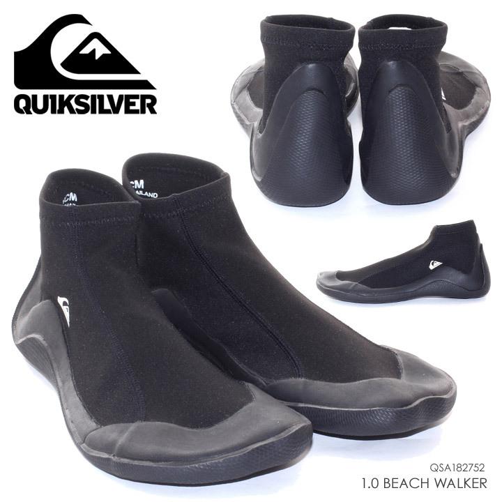 QUICKSILVER マリンシューズ メンズ 1.0 BEACH WALKER - QSA182752 2018夏 ブラック 26cm/27cm/28cm