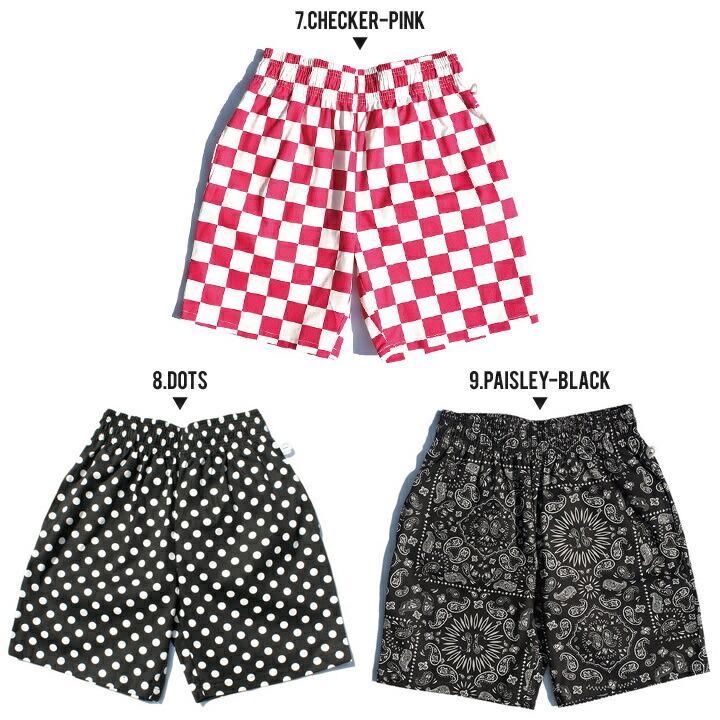 COOKMAN クックマン ユニセックスハーフパンツ CHEF SHORT PANTS 231-83996 2019春夏 ブラック/ホワイト M/L
