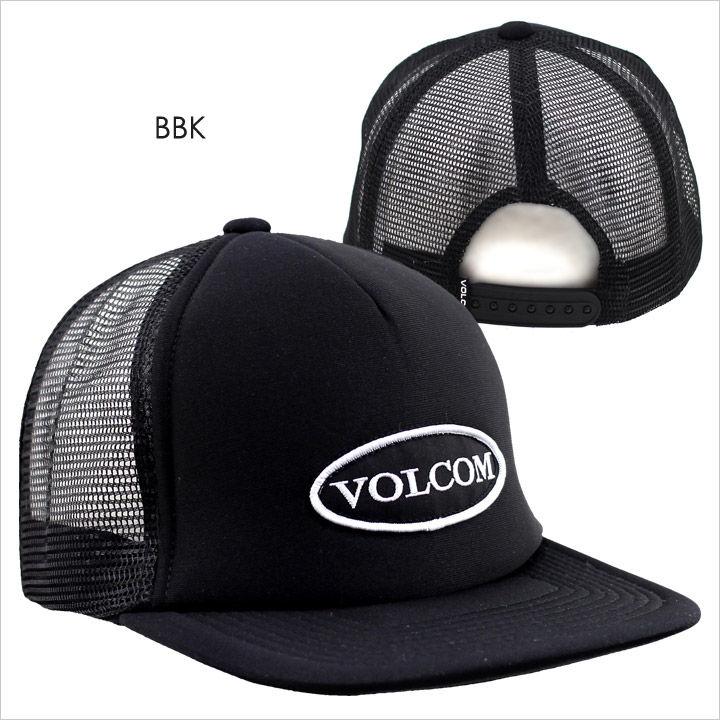 キャップ メンズ VOLCOM OLD PATCH CHEESE HAT - D5517JB 【 ボルコム キャップ スナップバック メッシュキャップ ロゴ シンプル サーフ ストリート 2017 17 春夏 新作 】