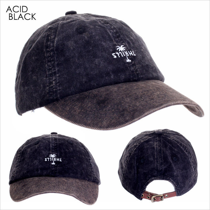 キャップ メンズ THRILLS CORD COUNTRY CAP - TW7-501 【 スリルズ サーフ ストリート ロゴ シンプル ワンポイント コーデュロイ 帽子 2017 17 F/W 秋冬 新作 】
