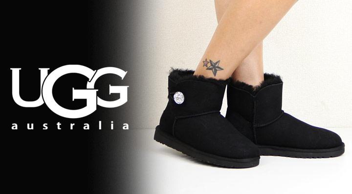 ugg australia mini bailey button bling w