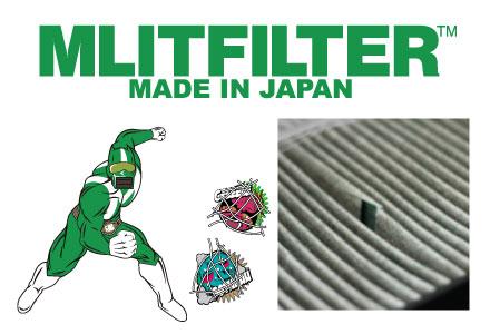 エムリットフィルター(MLIT FILTER)名称