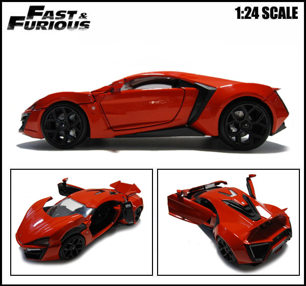 Auc-aicamu: 1 / 24-fast And Furious Mini Boxed Lycan Hyper