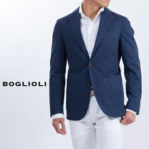BOGLIOLIボリオリジャケットネイビー222-72702-77