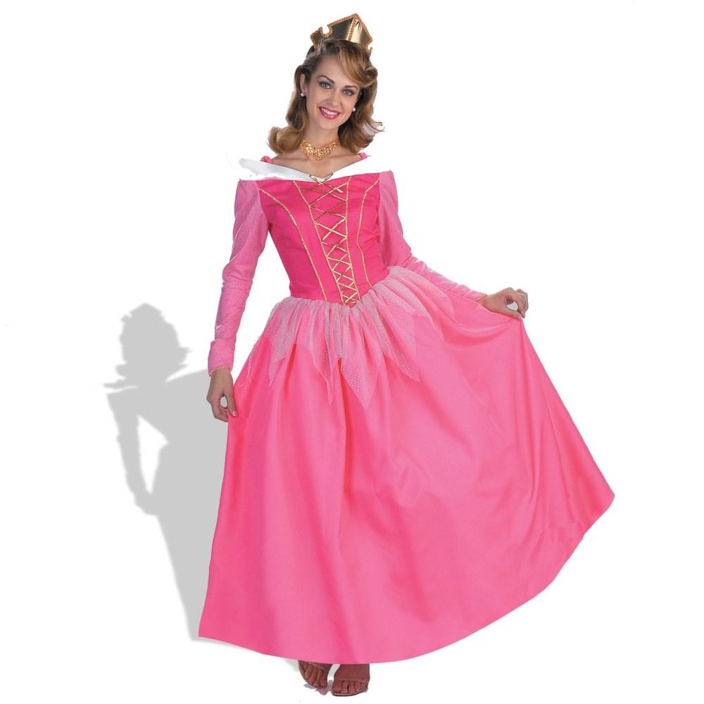 ccede2b2e8ee1 オーロラ姫衣装、コスチューム大人女性用Prestigeドレスディズニー眠れる森の美女 ドレス、チョーカー、ティアラ。※靴は含まれません。※Disney  Princessの米国版正規 ...