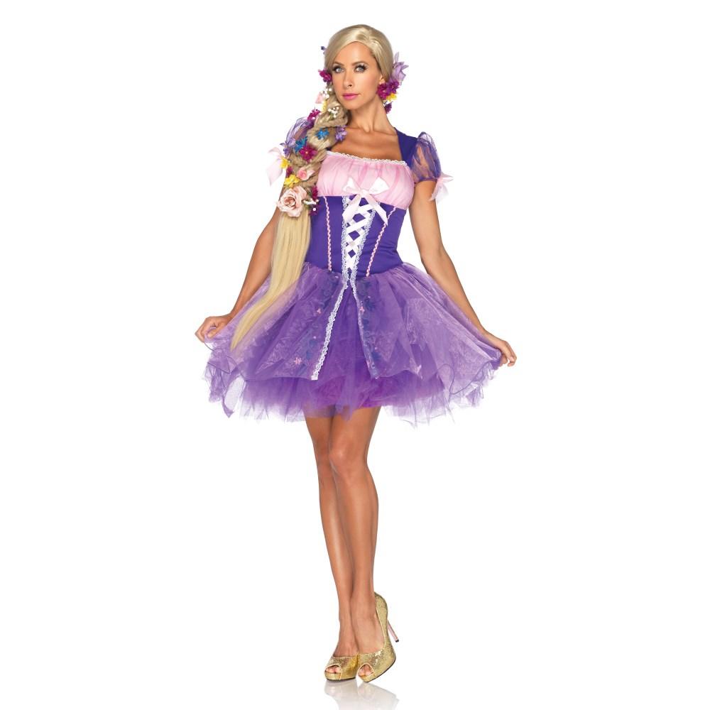塔の上のラプンツェル 衣装、コスチューム 大人女性用 ディズニー Rapunzel