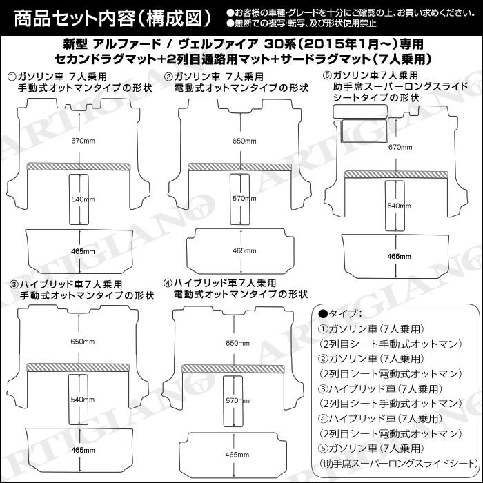 TOYOTA(トヨタ) アルファード 30系/ヴェルファイア 30系 ラグマット