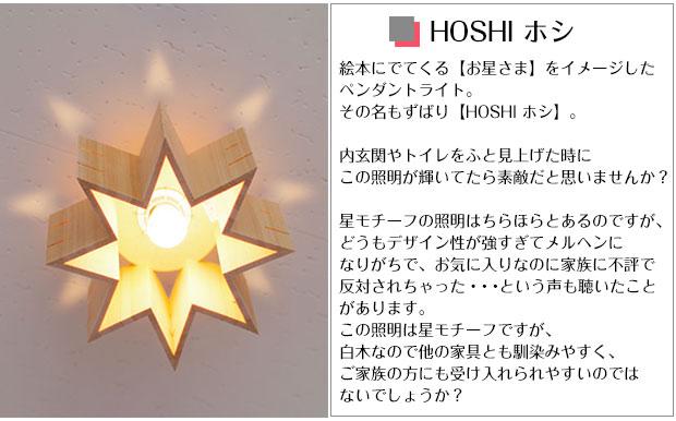 星型のシーリングライト【Flames HOSHI】です。