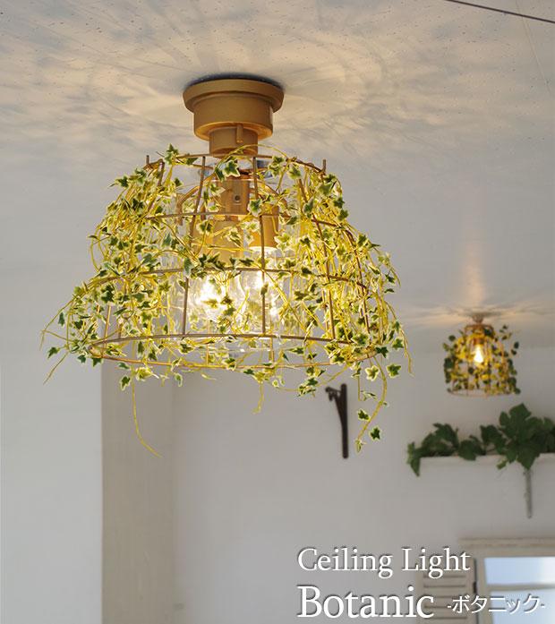 ボタニカルな3灯シーリングライト【Botanic】です。