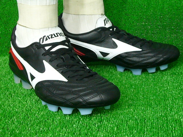 timeless design 3ef8c e8f29 Mizuno Morelia wave fixed soccer spike 12kp90101