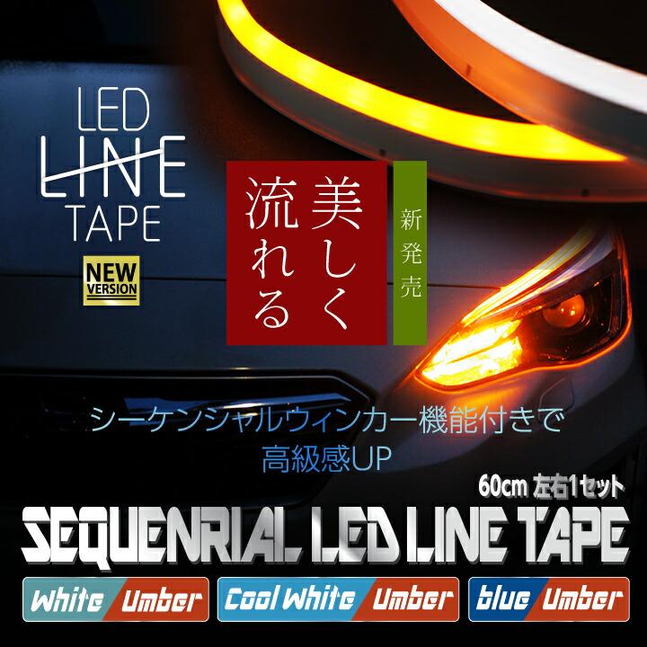 シーケンシャルウィンカーLEDテープ