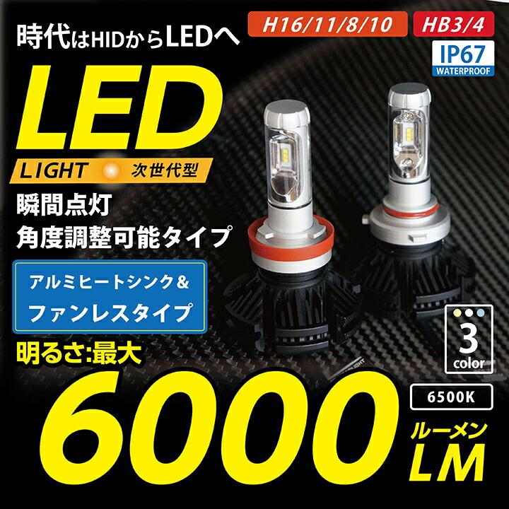 600lm LEDフォグ
