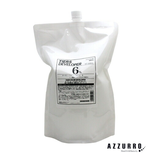 ティアーズ アススティック デベロッパー 2剤 6% 2000ml