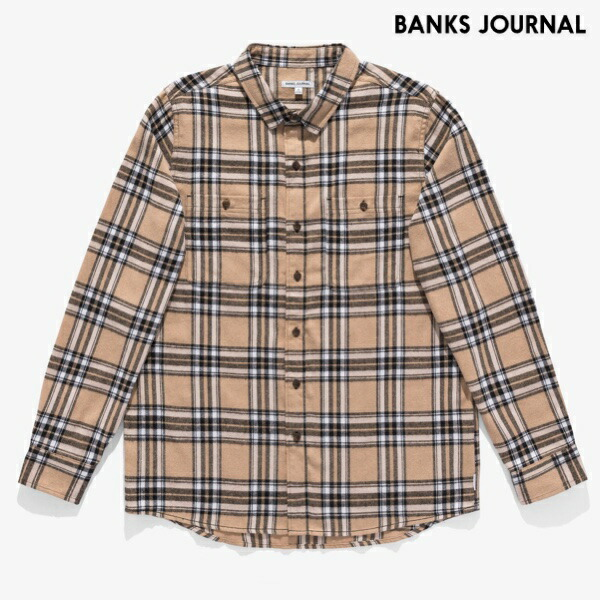 BANKSシャツ
