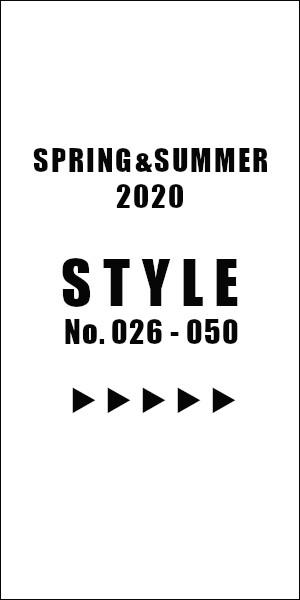 STYLE2020S/S025-050