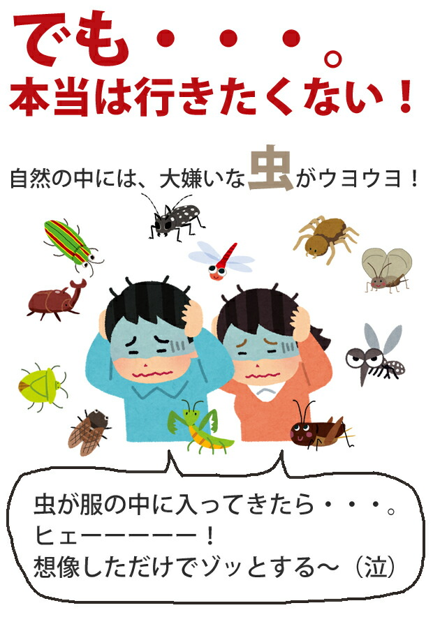 デング熱や日本脳炎などは蚊を媒介して感染します。 (防虫、蚊よけ、虫除け、ネット、パーカー、蚊帳)