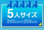 5人サイズ