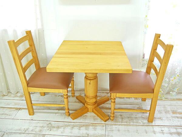 ナチュラルカントリー ラウンドテーブル 丸いダイニングテーブル 直径110cm 天板のテーブル