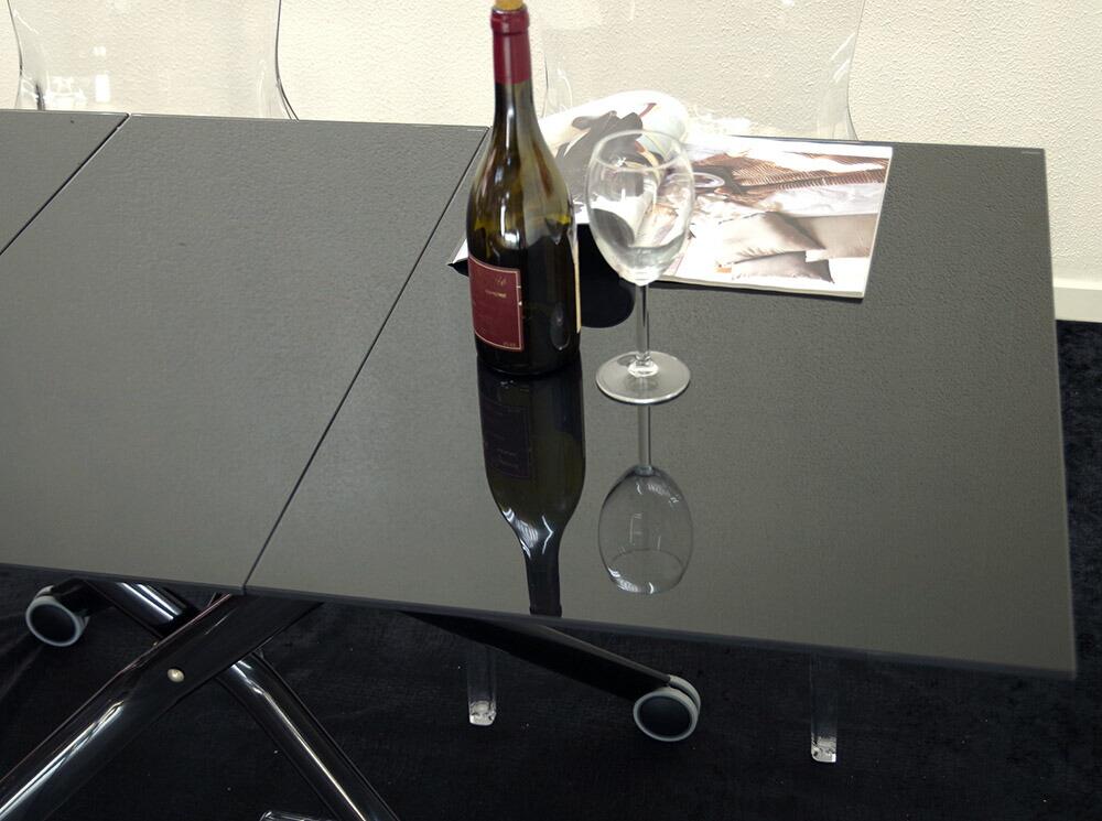 ガラス天板ビッグテーブル
