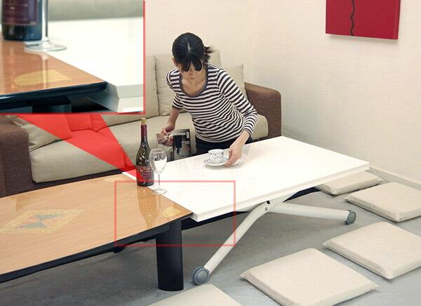 auc-banjo  라쿠텐 일본: 큰 크기의 리프팅 테이블 승 강 연장 식 ...