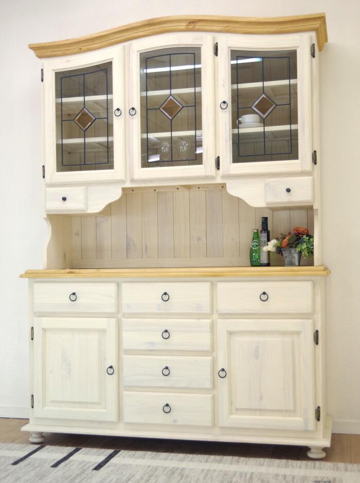 フレンチカントリー食器棚