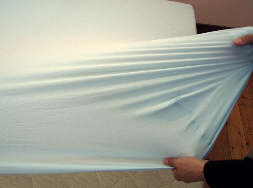 ダブルベッド ワイドキングベッド 大きなマットレス用 ボックスシーツ