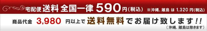 送料 全国一律540円(税込) 商品代金5,400円以上で送料無料でお届け