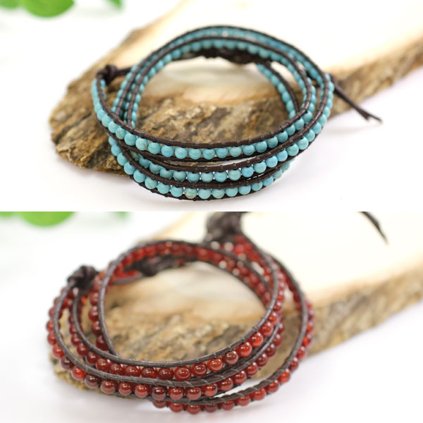 Accessoryshopbarzaz Bracelet Leather Leather Loop Bless