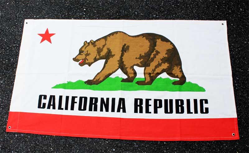 カリフォルニア州★フラッグ(旗)★約135×80cm