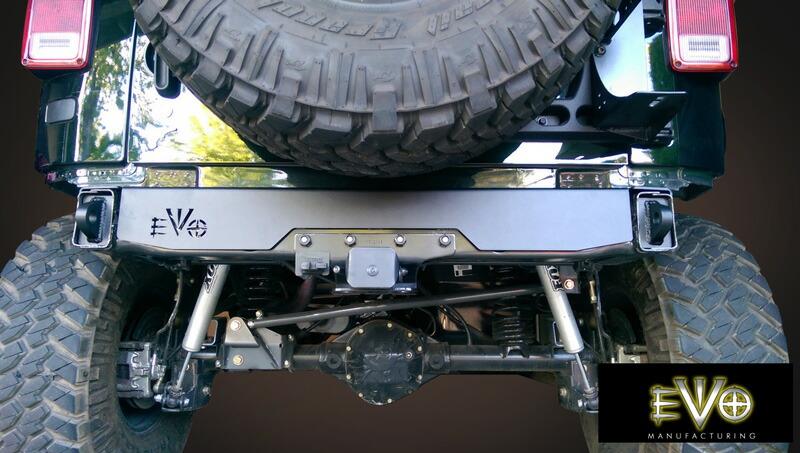 Jeep Wrangler Off Road >> BIGROW   Rakuten Global Market: JEEP WRANGLER JK Unlimited-JK 2007-OFF ROAD EVOLUTION Rear ...