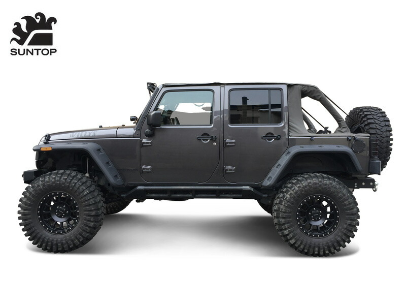 Jeep Wrangler Black No Room