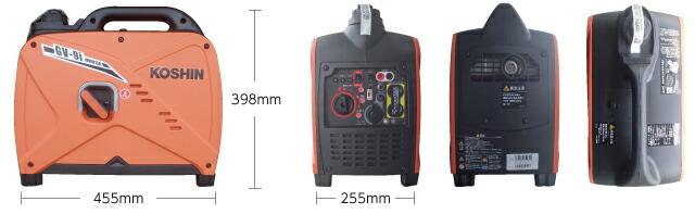 工進 インバーター発電機 GV-9i