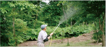 MS-ER50T 除草や噴霧をダイヤル一つで切り替え