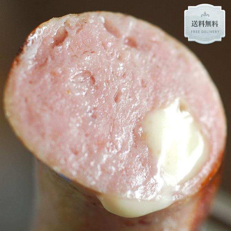 【送料無料】レビューで好評!フランクフルト(カマンベールチーズ入り)約1.2kg(約120g×10p)